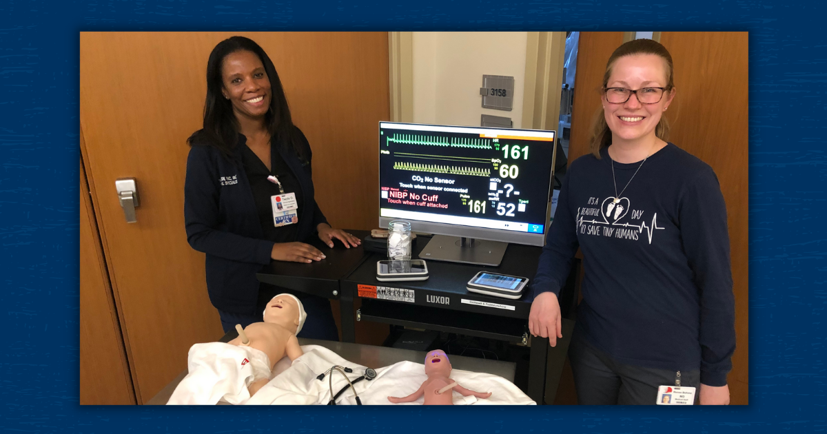 The Hopewell, New Jersey Pediatrix Medical Group Practice Welcomes New Manikins for Simulation Training