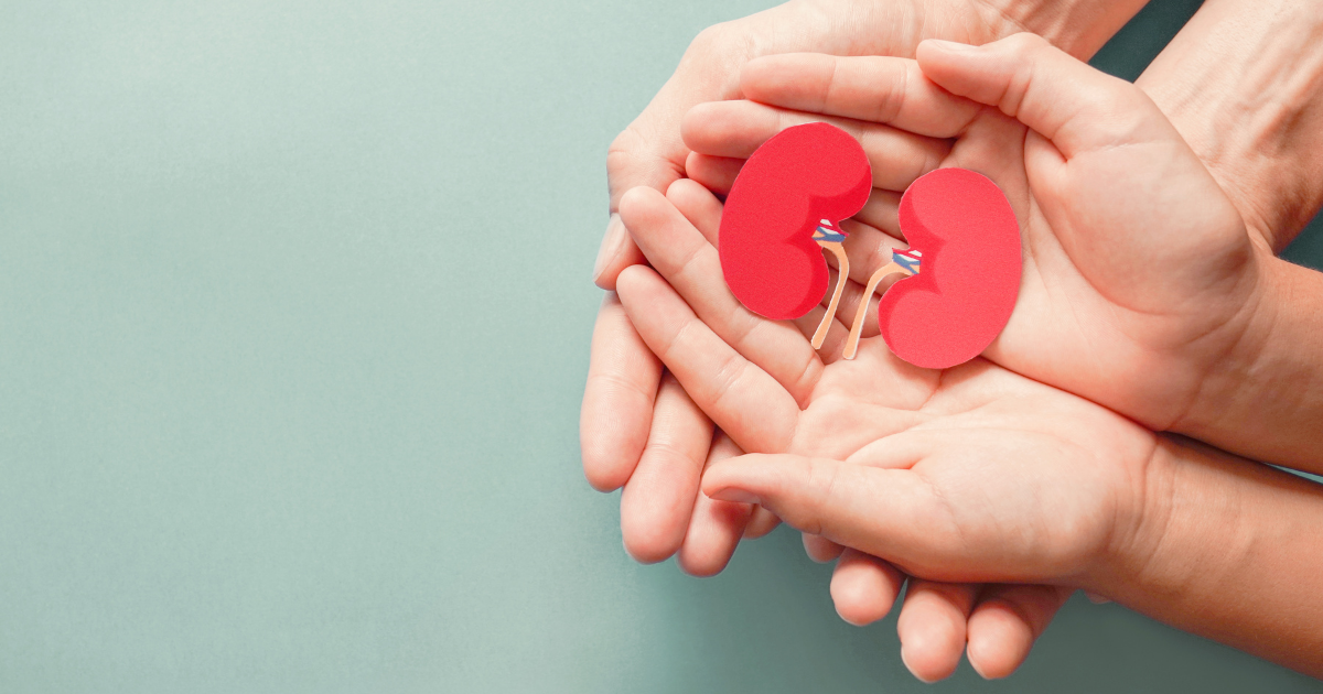 The perfect match: two stories of living kidney donation